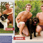 Water Polo members with dogs